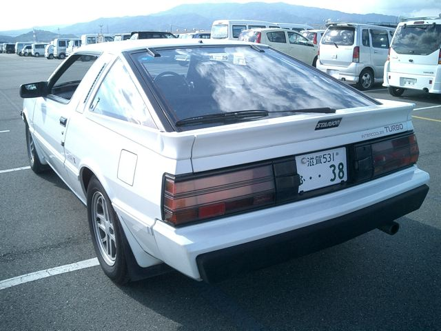 1987 Mitsubishi Starion 4