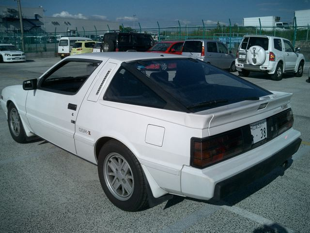 1987 Mitsubishi Starion 4d