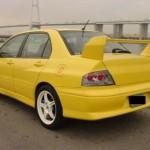 EVO 7 GSR rear