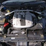 2001 R34 GT-T coupe engine