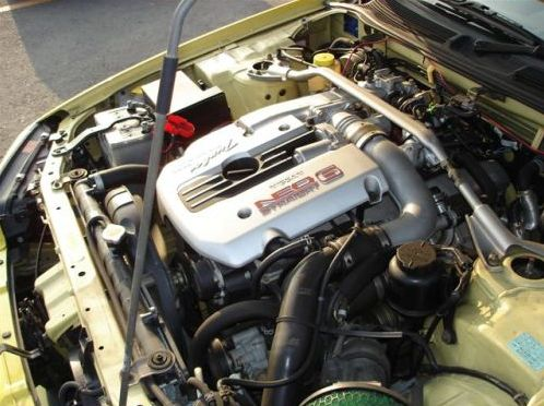 Skyline R34 GT-T engine