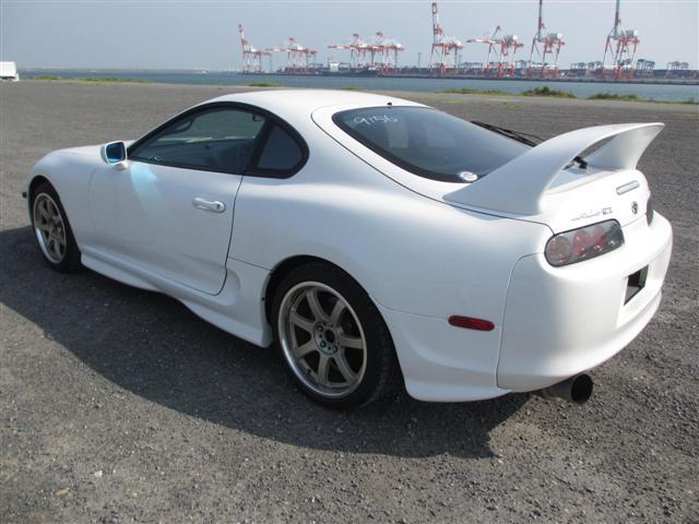 2002 Toyota Supra RZ-S 3L twin turbo 6 speed manual rear