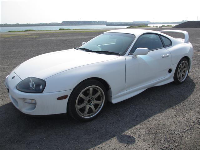 2002 Toyota Supra RZ-S 3L twin turbo 6 speed manual front