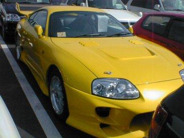 1994 Toyota Supra SZ non turbo front