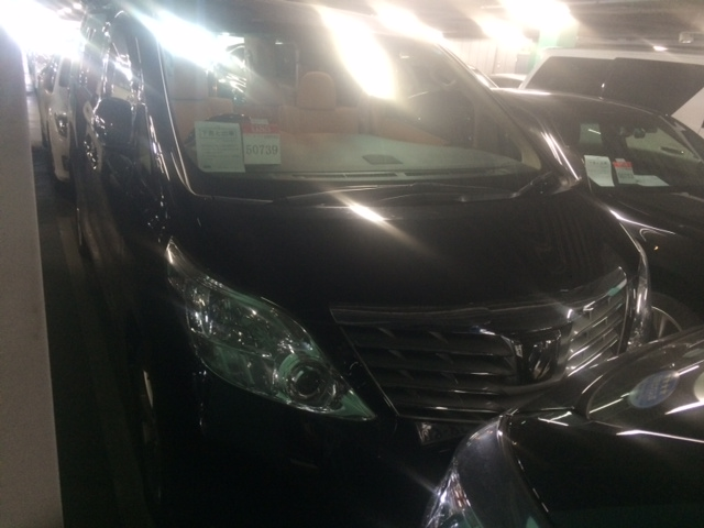 2011 Toyota Alphard Welcab Sloper