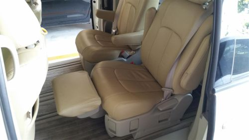 Toyota Estima rear seat foot rest