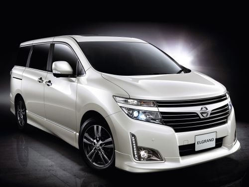 2011 Nissan Elgrand E52 Highway Star Urban Chrome