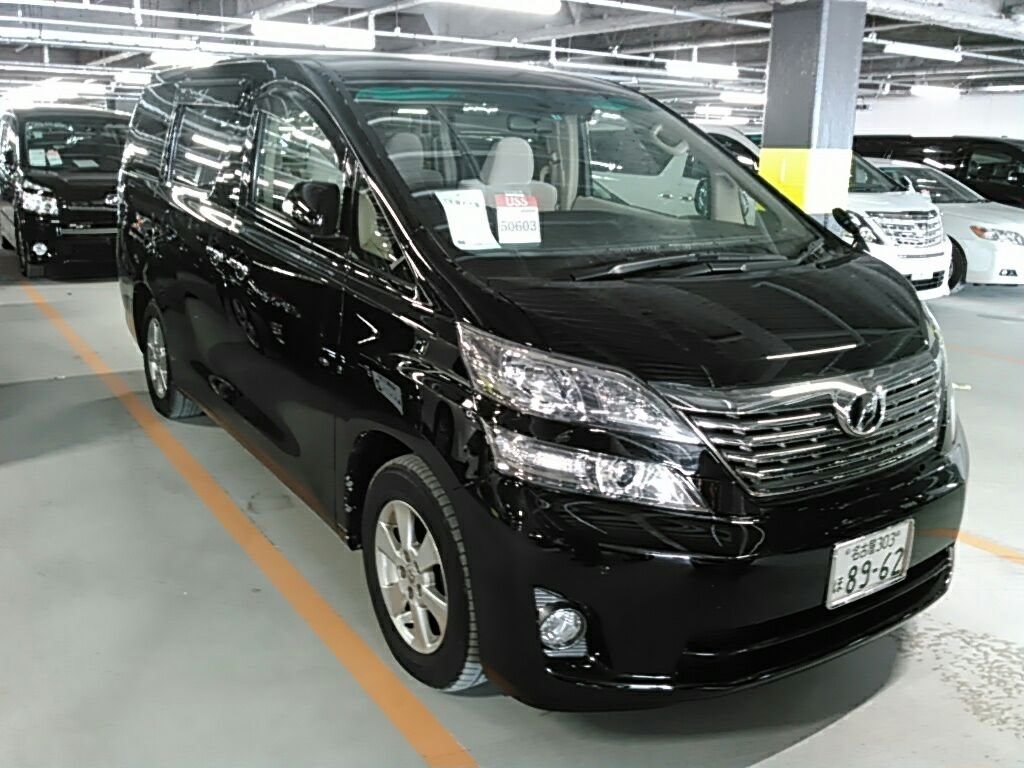 2 2010 Toyota Vellfire SLOPER WELCAB