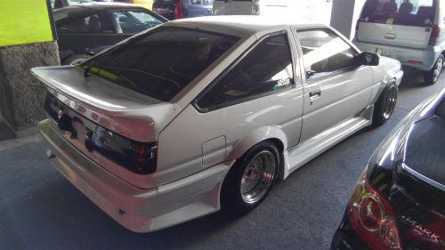 1987 Toyota Sprinter GT APEX 8