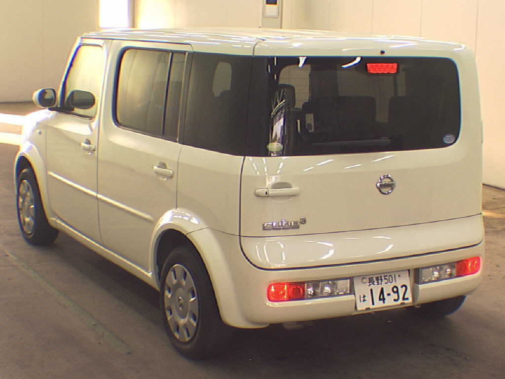 2005 Nissan Cube Cubic 1.5L 7-seater 2WD rear