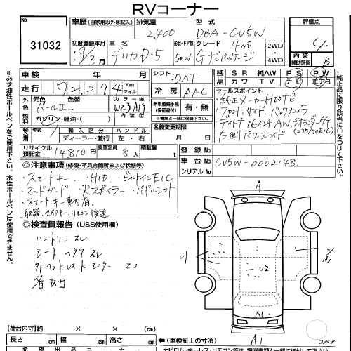 2007 Mitsubishi Delica D5 2