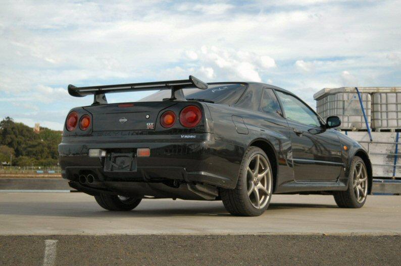1999 Nissan Skyline R34 GTR VSpec rear