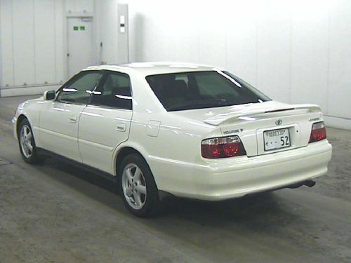 chaser tourer v jzx100 rear