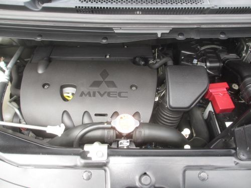2009 Mitsubishi Delica D5 4WD engine