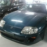 1994 Toyota Supra RZ TT auto auction front 3