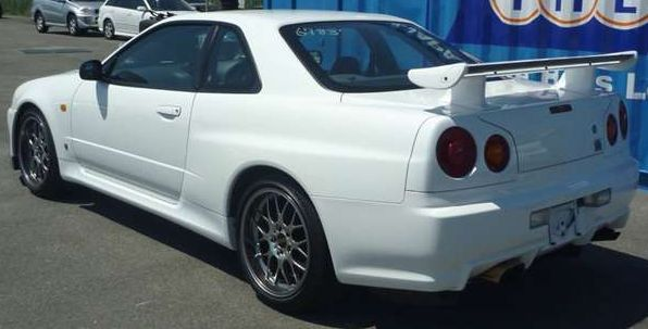 1999 Nissan Skyline R34 GTR V Spec N1 side