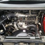 2003 Mitsubishi Delica PD6W Chamonix 7-seater engine bay