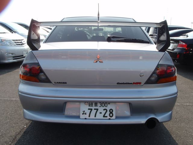 2004 Mitsubishi Lancer EVO 8 MR rear