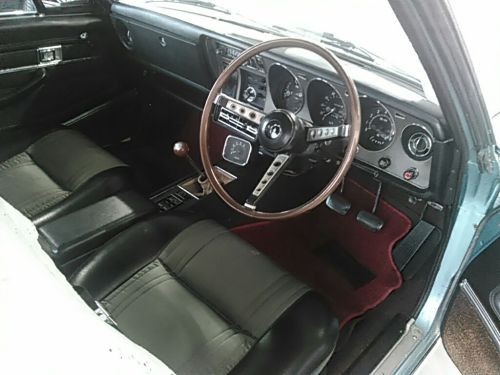 1970 Toyota Crown MS51 Coupe interior