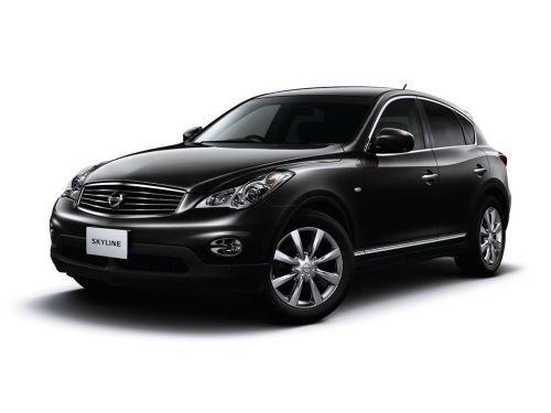 Nissan Skyline Crossover front black