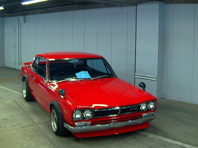 1971 Nissan Skyline KGC10 coupe GT-X auction front