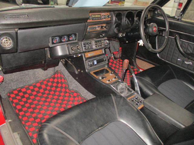 1971 Nissan Skyline KGC10 coupe GT-X auction interior