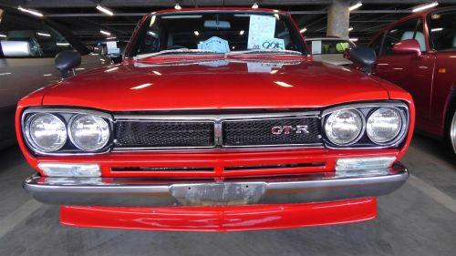 1971 Nissan Skyline KGC10 coupe GT-X front 3