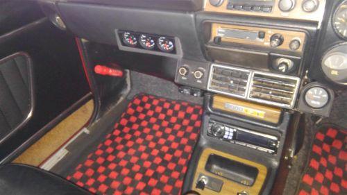 1971 Nissan Skyline KGC10 coupe GT-X instruments