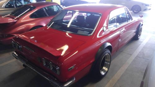 1971 Nissan Skyline KGC10 coupe GT-X right rear