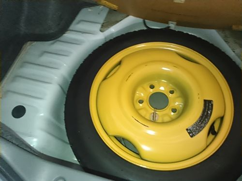 1994 Nissan Skyline R32 GT-R original spare tyre