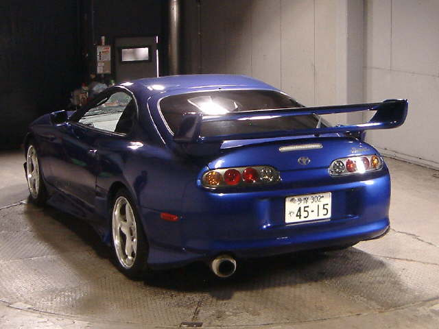 2000 TOYOTA SUPRA RZ-S TWIN TURBO rear