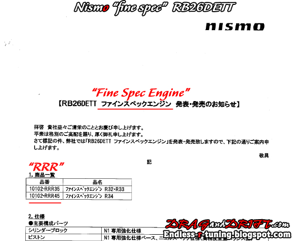 2009 Fine-Spec-engine-nismo-data