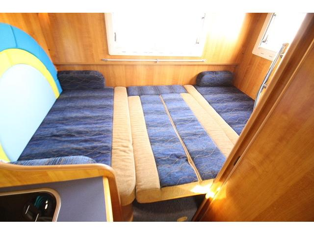 2010 Toyota Camroad motor home double bed conversion