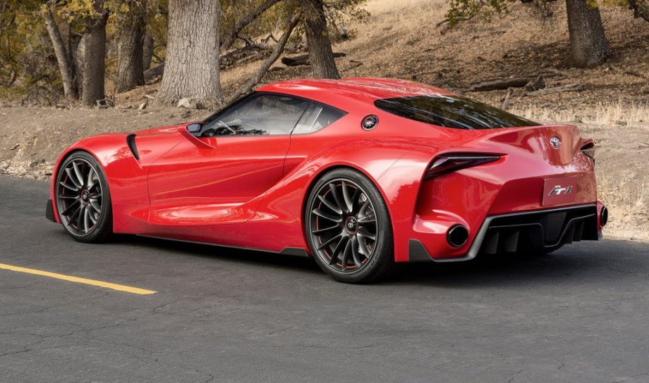 2014 FT-1 Sports Coupe Concept rear