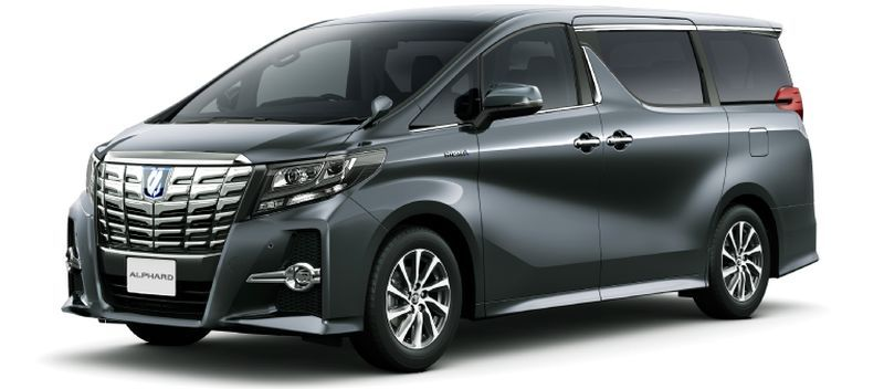 Toyota Alphard and Vellfire 30 Series Alphard Gray metallic 1G3