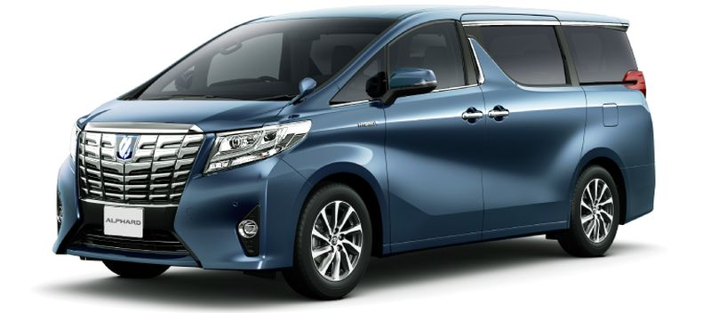 Toyota Alphard Hybrid 30 Series and Vellfire Hybrid 30 Series Grayish Blue Mica Metallic 8V5 small