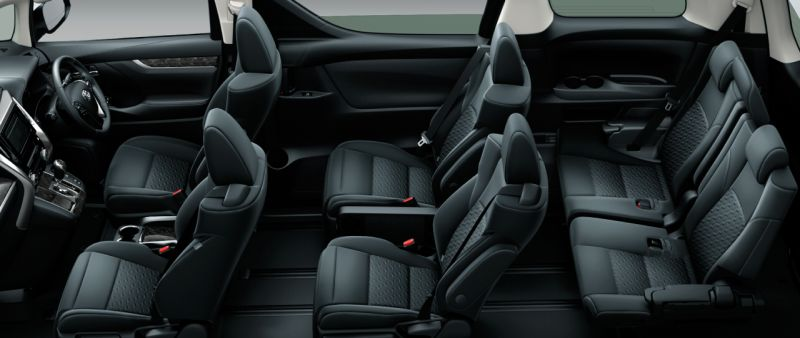 Toyota Alphard and Vellfire 30 Series Z A EDITION seat colour