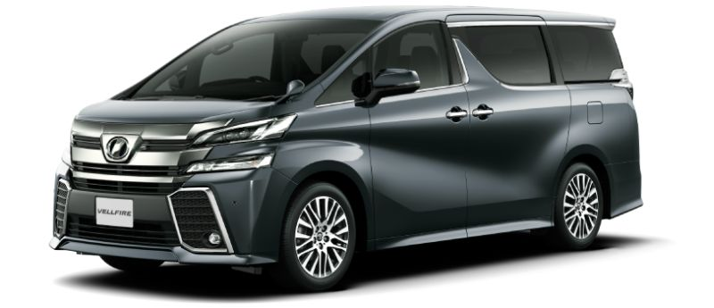 Toyota Alphard Hybrid 30 Series and Vellfire Hybrid 30 Series colour option Gray metallic 1G3