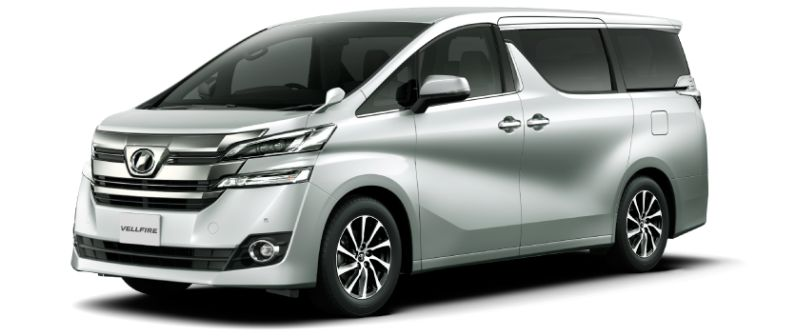 Toyota Alphard Hybrid 30 Series and Vellfire Hybrid 30 Series colour option Silver metallic 1F7