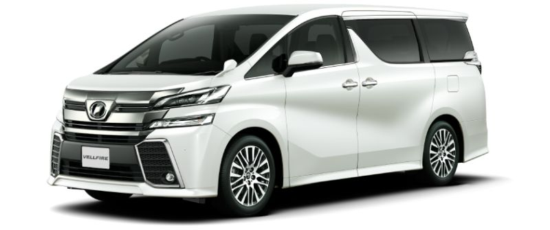 Toyota Alphard Hybrid 30 Series and Vellfire Hybrid 30 Series colour option White Pearl Crystal Shine 070