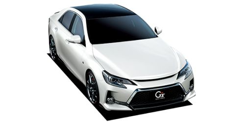 Toyota Mark X import GS Carbon roof version