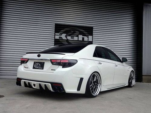Toyota Mark X import bodykit