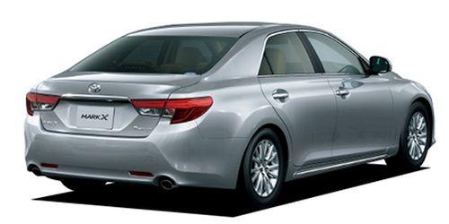 Toyota Mark X import silver