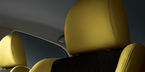 Toyota Mark X import special yellow leather seats
