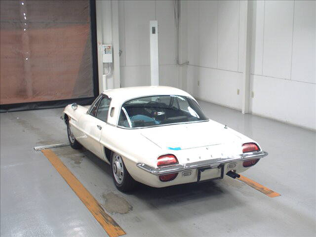 1968 Mazda Cosmo Sports L10A coupe auction rear