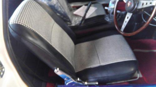 1968 Mazda Cosmo Sports L10A coupe driver seat