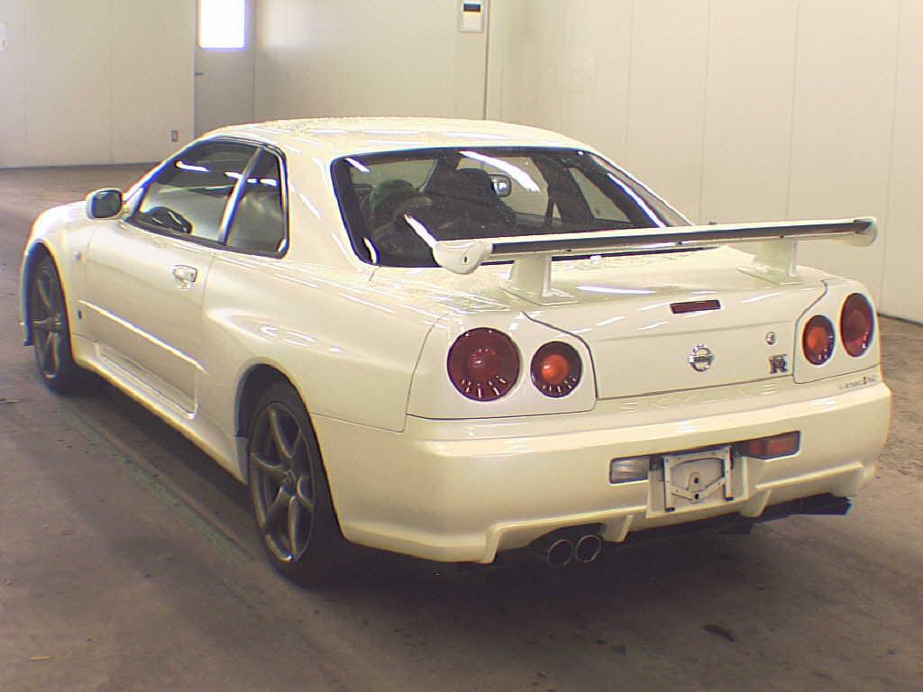 2002 NISSAN SKYLINE GT-R VSPEC2 NURrear