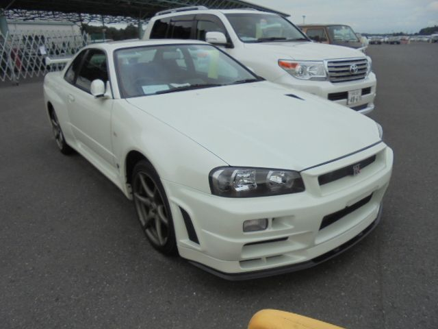 2002 Nissan Skyline R34 GT-R VSPEC2 NUR front right