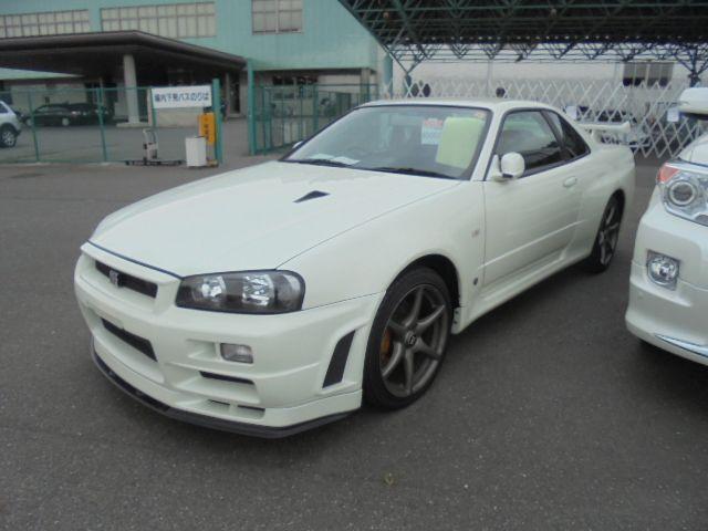 2002 Nissan Skyline R34 GT-R VSPEC2 NUR left front