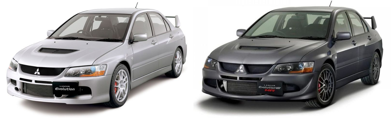 2004 Mitsubishi Lancer EVO 8 GSR and MR